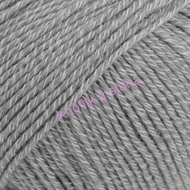 Cotton Merino ~ 18 ~ šedá